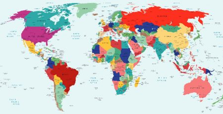 Geopolitical Risk | Map of the World | Sheaff Brock