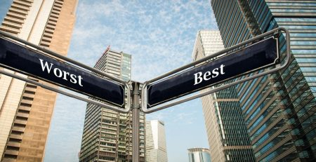 Street Sign of Worst and Best | Double Decade Stock Market | Sheaff Brock